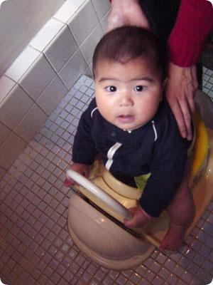トイレトレーニング1回目